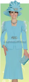 Champagne 4501 Womens Church Suits