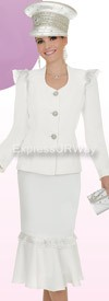 Champagne 4504 Womens Church Suits