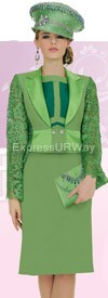 Champagne 4516 Womens Church Suits