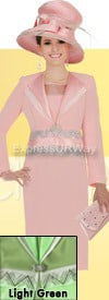 Clearance Champagne 4521 Womens Church Suits