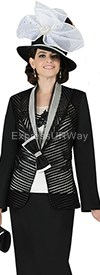 Champagne 4422 Womens Church Suits