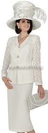 Champagne 4502 Womens Church Suits