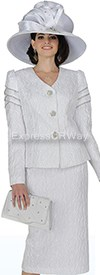 Champagne 4507 Womens Church Suits
