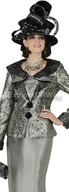 Champagne 4512 Womens Church Suits