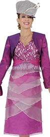Champagne 4553 Womens Church Suits