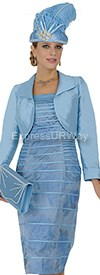Champagne 4568 Womens Church Suits
