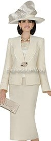 Champagne 4712 Womens Church Suits