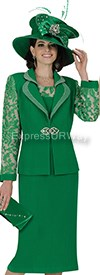 Champagne 4714 Womens Church Suits
