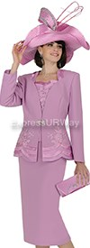 Clearance Champagne 4722 Womens Church Suits