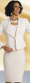 Chancelle 40511 Womens Wide Lapel Jacket & Dress Set