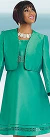 Chancelle 40520 Ladies Jacket & Bell Dress Set