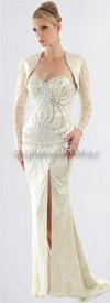 Clearance Daniella 1088 - Ivory - Evening Wear