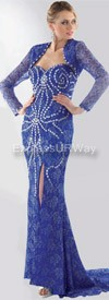Daniella 1088 - Royal - Evening Wear