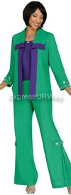 Devine Casuals DC1153 Emerald-Purple