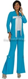 Devine Casuals DC1153 Turquoise-White