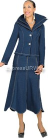 Devine Denim 95572 Womens Denim Suit