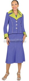 Devine Denim 95643 Womens Denim Suit