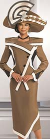 Donna Vinci 11500 Ladies Skirt Suit