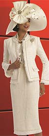Donna Vinci 5527 Ladies Boucle Church Suit