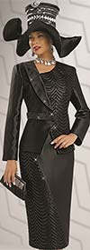 Donna Vinci 5528 Womens Lace & Sequin Suit