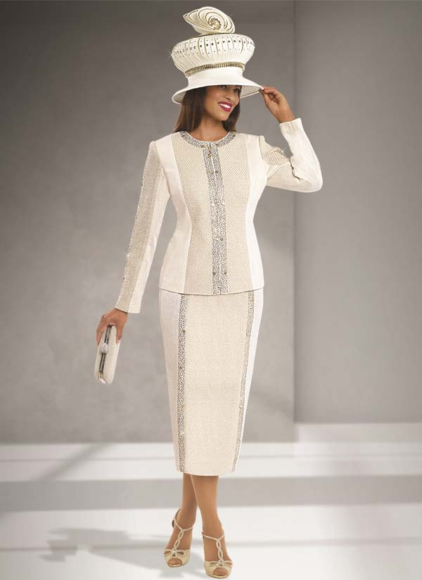 Donna Vinci Knits : Womens Knit Church Suit by Donna Vinci - 13166 - Fall 2016 - Expressurway
