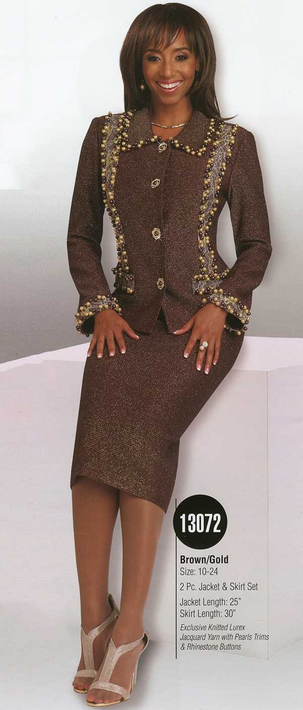 Donna Vinci Knits : Womens Knit Church Suit by Donna Vinci - 13072 - Spring 2016 - www.expressurw...