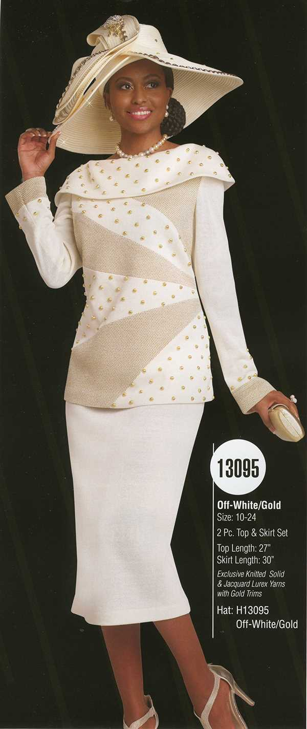 Donna Vinci Knits : Womens Knit Church Suit by Donna Vinci - 13095 - Spring 2016 - www.expressurw...