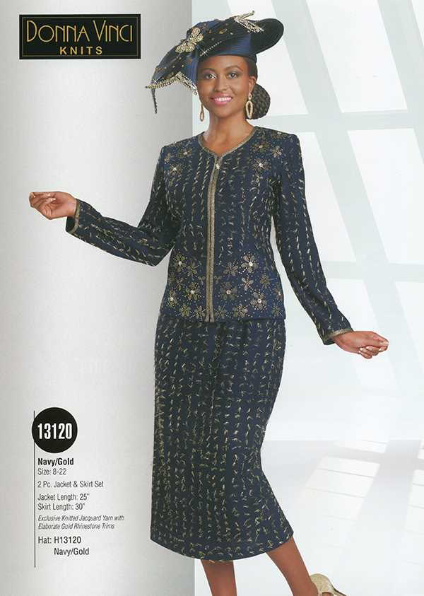 Donna Vinci Knits : Womens Knit Church Suit by Donna Vinci - 13120 - Spring 2016 - www.expressurw...
