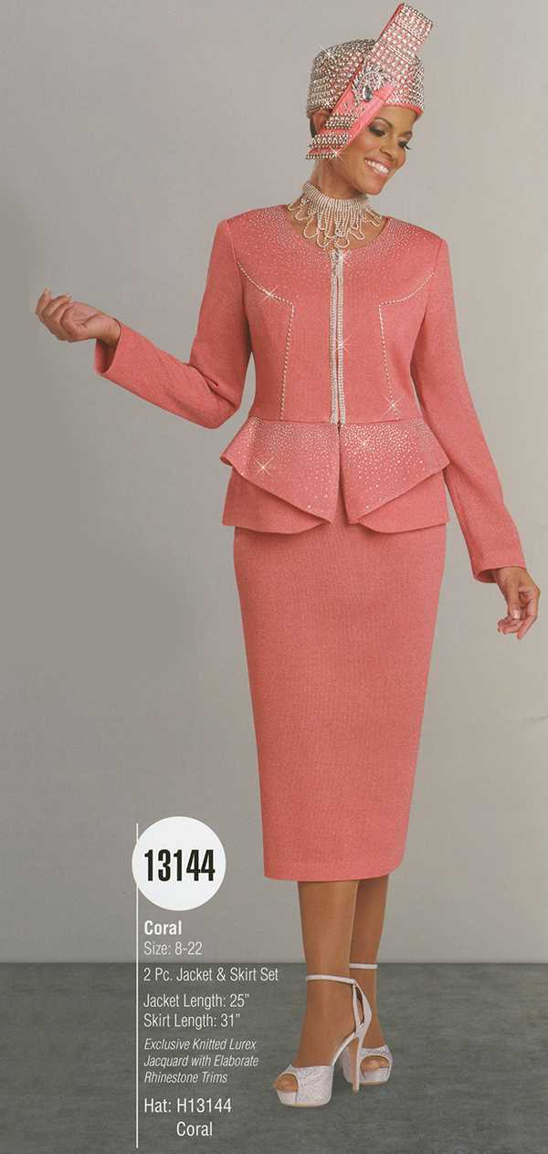 Donna Vinci Knits : Womens Knit Church Suit by Donna Vinci - 13144 - Spring 2016 - www.expressurw...