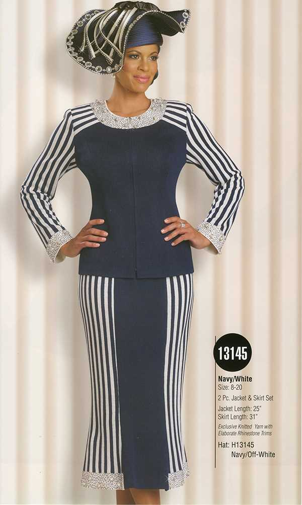 Donna Vinci Knits : Womens Knit Church Suit by Donna Vinci - 13145 - Spring 2016 - www.expressurw...
