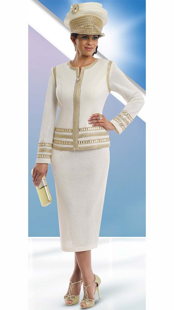 Womens Knit Church Suit by Donna Vinci - 13194 - Spring 2017 - Expressurway
