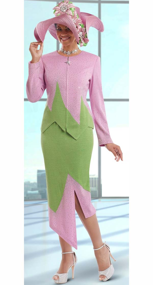 Donna Vinci Knits : Womens Knit Church Suit by Donna Vinci - 13195 - Spring 2017 - Expressurway
