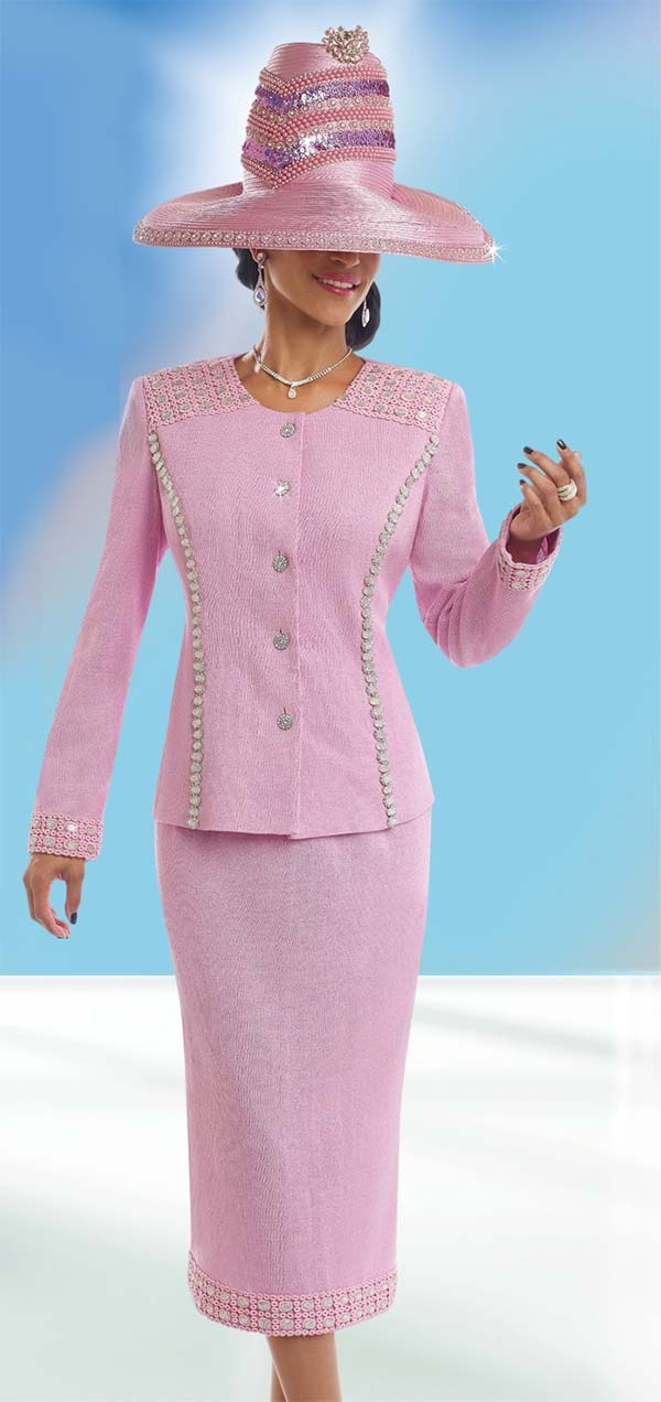 Donna Vinci Knits : Womens Knit Church Suit by Donna Vinci - 13199 - Spring 2017 - Expressurway