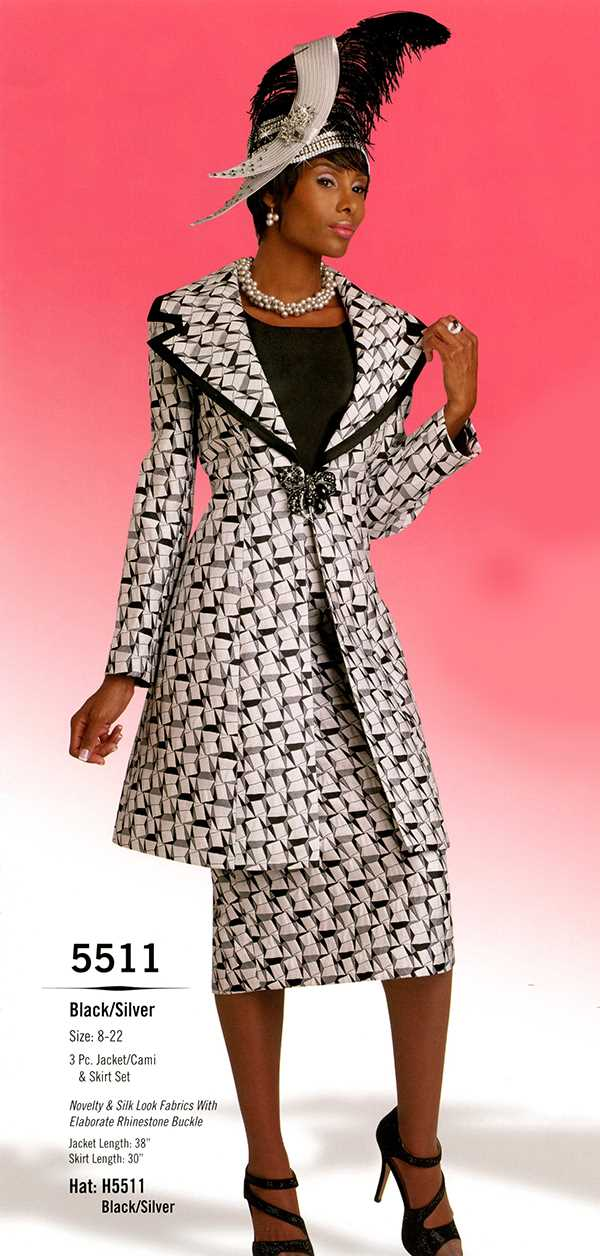 Womens Church Suit By Donna Vinci 5511 Spring 2016