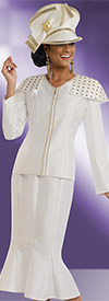 Donna Vinci 11522 First Lady Church Suit With Mermaid Skirt