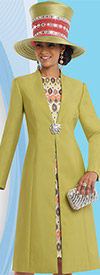 Clearance Donna Vinci 5552 Womens Dress Set With Long Jacket