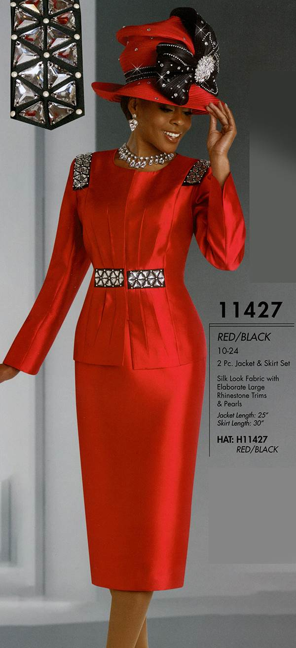 Womens Church Suit By Donna Vinci 11427 Fall 2015