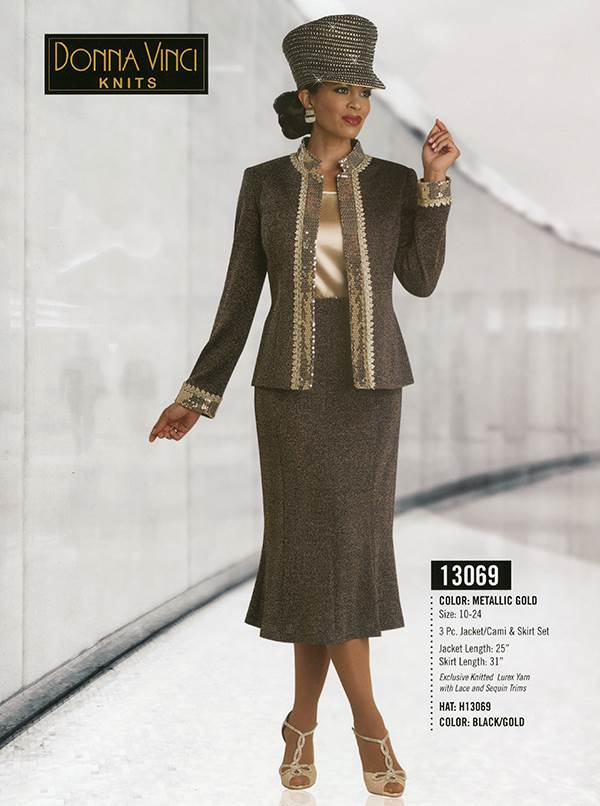 Donna Vinci Knits : Womens Knit Church Suit by Donna Vinci - 13069 - Fall 2015 - www.expressurway...