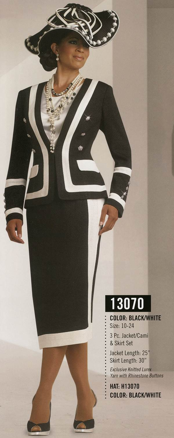 Donna Vinci Knits : Womens Knit Church Suit by Donna Vinci - 13070 - Fall 2015 - www.expressurway...