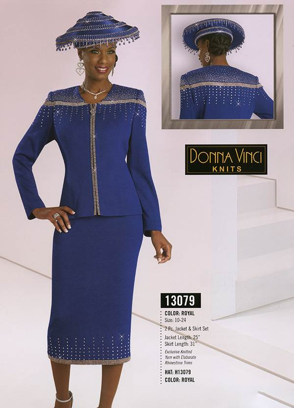 Donna Vinci Knits : Womens Knit Church Suit by Donna Vinci - 13079 - Fall 2015 - www.expressurway...