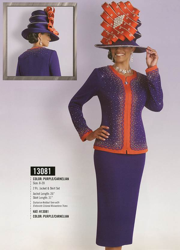 Donna Vinci Knits : Womens Knit Church Suit by Donna Vinci - 13081 - Fall 2015 - www.expressurway...
