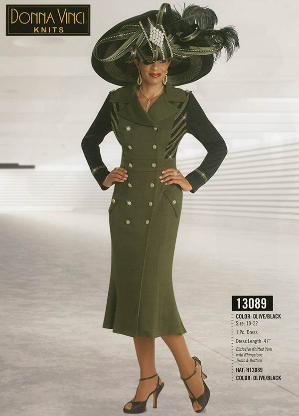 Donna Vinci Knits : Womens Knit Church Suit by Donna Vinci - 13089 - Fall 2015 - www.expressurway...