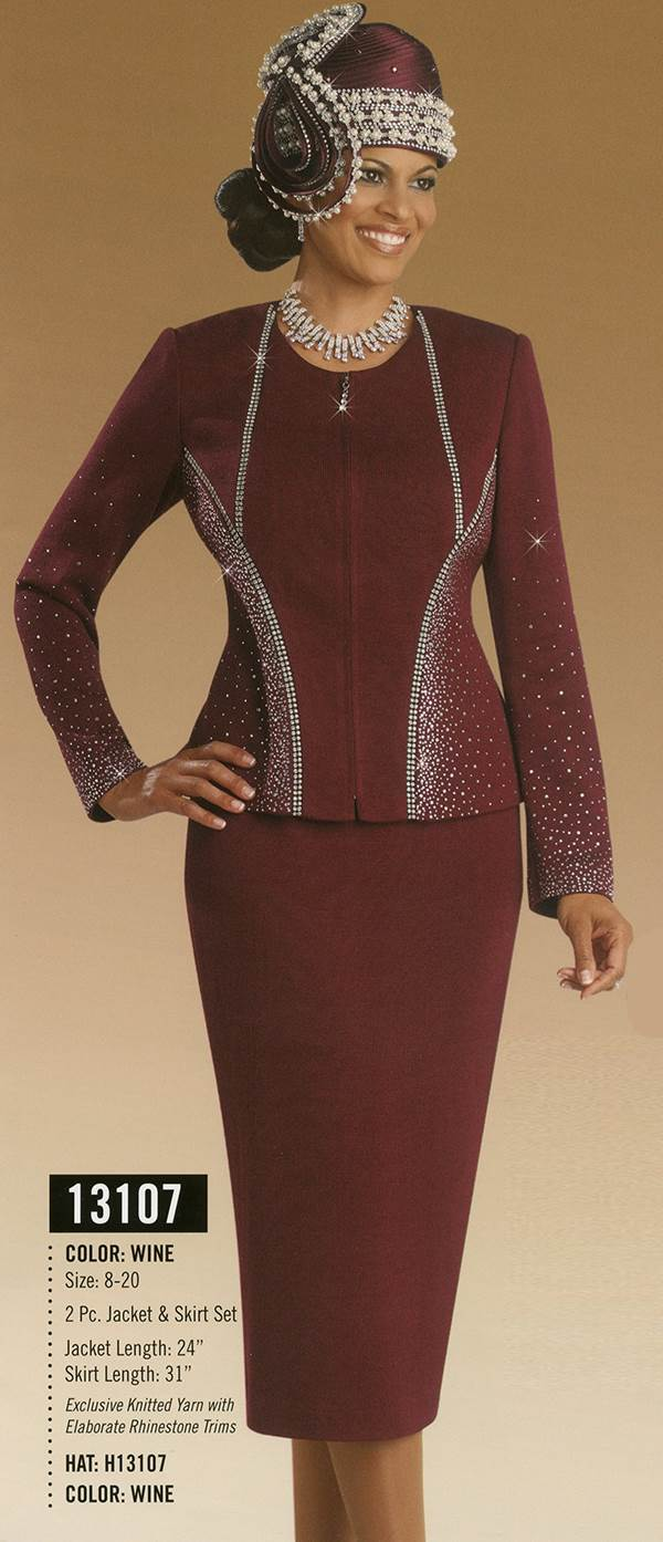Donna Vinci Knits : Womens Knit Church Suit by Donna Vinci - 13107 - Fall 2015 - www.expressurway...