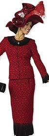 Clearance Elite Champagne 4961 Womens Knit Suit