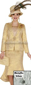 Clearance Elite Champagne 4666 Church Suits