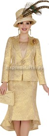 Elite Champagne 4666 Church Suits