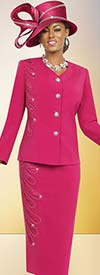 Fifth Sunday 52808 Womens V-Neckline Church Suit
