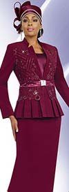 Fifth Sunday 52810 Womens Church Suit With Pleated Jacket