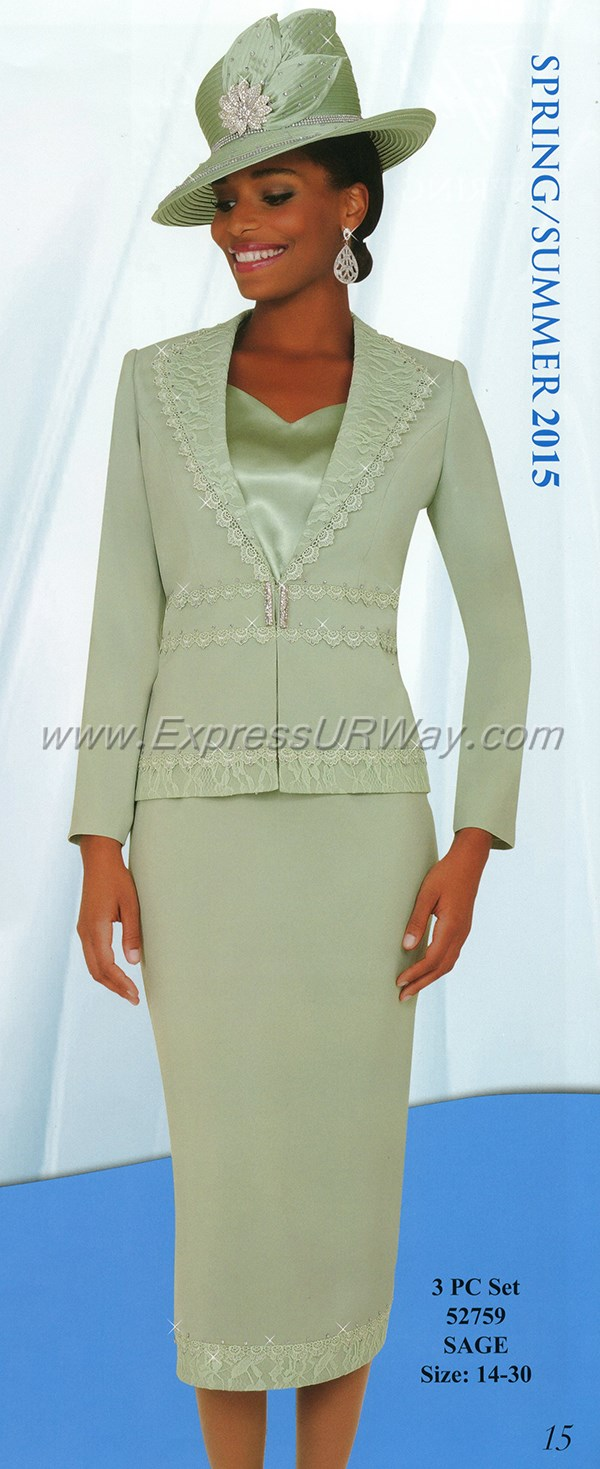 Womens Church Suits By Fifth Sunday 52759 Spring 2015