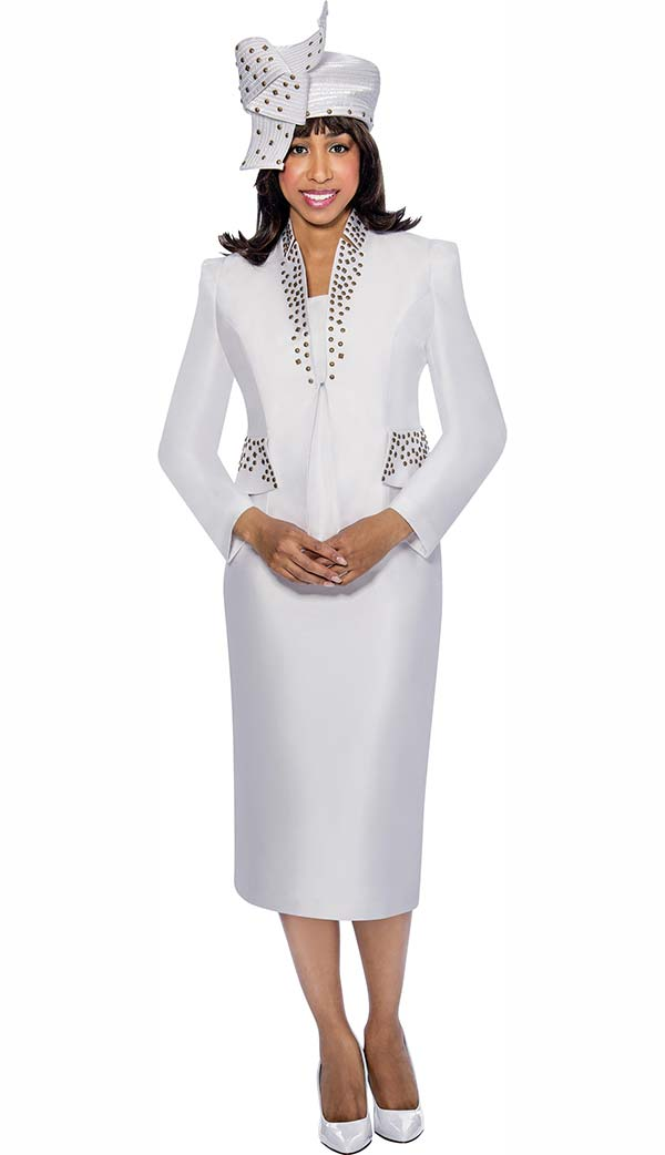 GMI G6303-White - Womens Church Suits - Fall 2017 - ExpressURWay